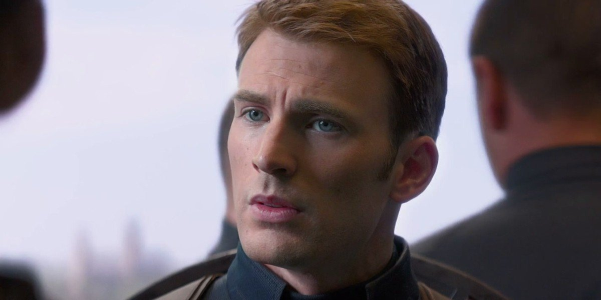 Steve Rogers/Captain America is uneasy in Captain America: The Winter Soldier (2014)