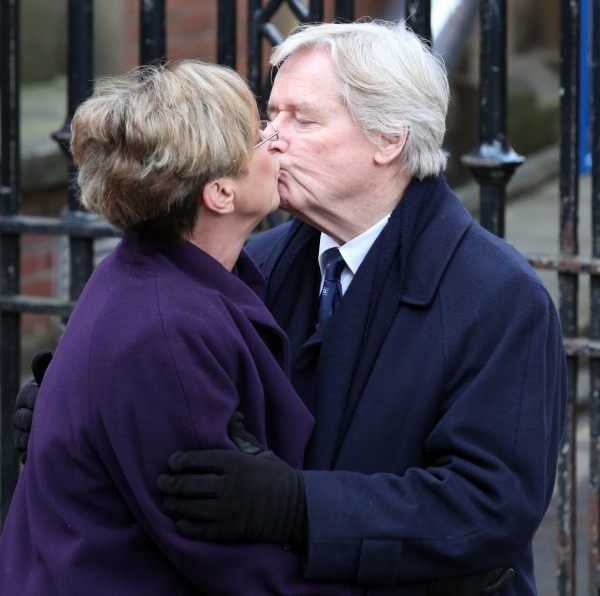Ken and Deirdre Barlow (played by Bill Roache and Anne Kirkbride.