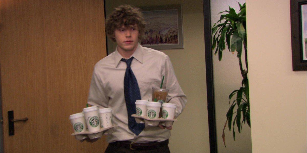 Evan Peters - The Office