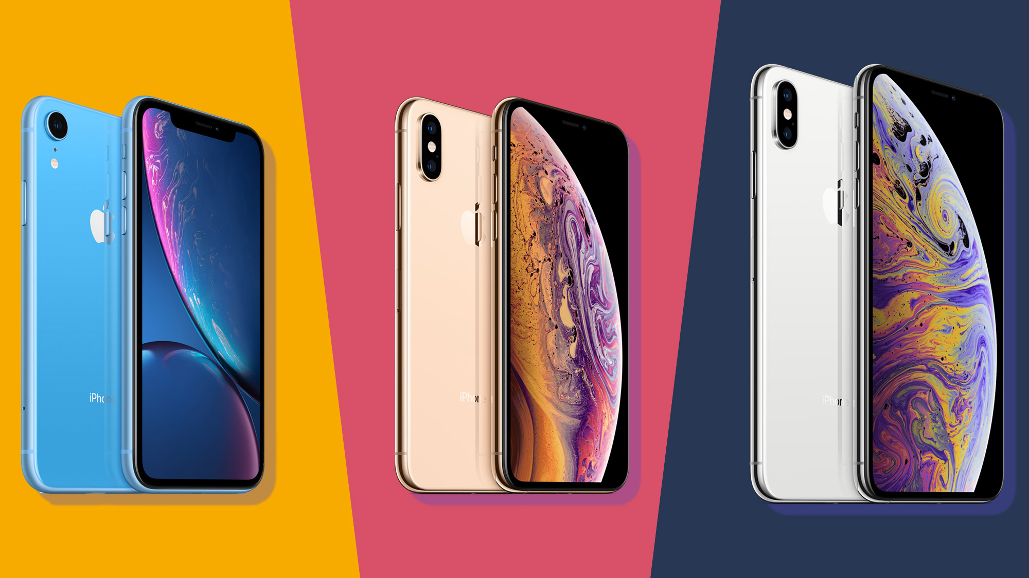 iPhone XS vs iPhone XS Max vs iPhone XR | TechRadar