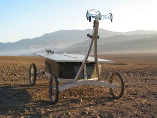 Robot Finds Life in Desert, Mimicking Skills Needed on Mars