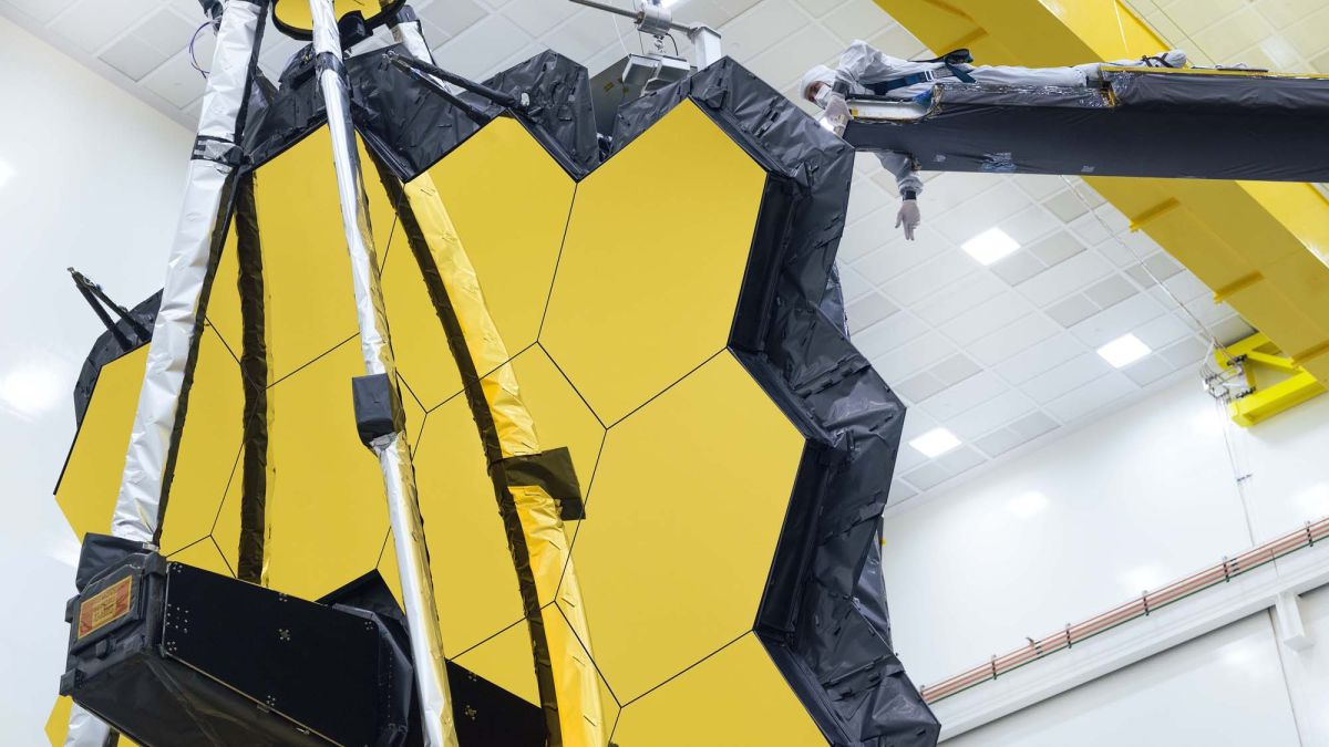 NASA's James Webb Space Telescope unfolds its giant mirror for last time ahead of Oct. 31 launch