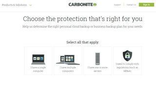 Carbonite Computer Backup Core