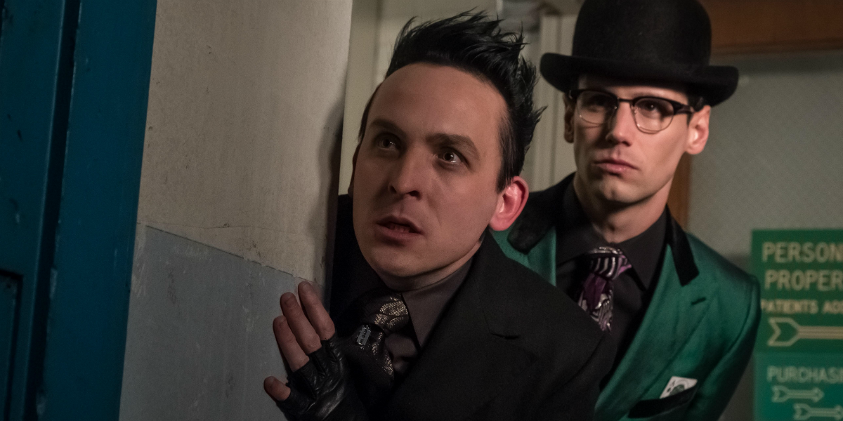 Gotham Robin Lord Taylor Oswald Cobblepot The Penguin Cory Michael Smith Edward Nygma The Riddler Fo