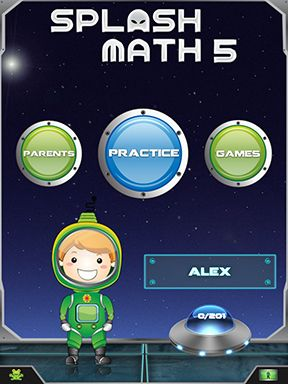 Comprehensive Math App Engages Kids With Space Games