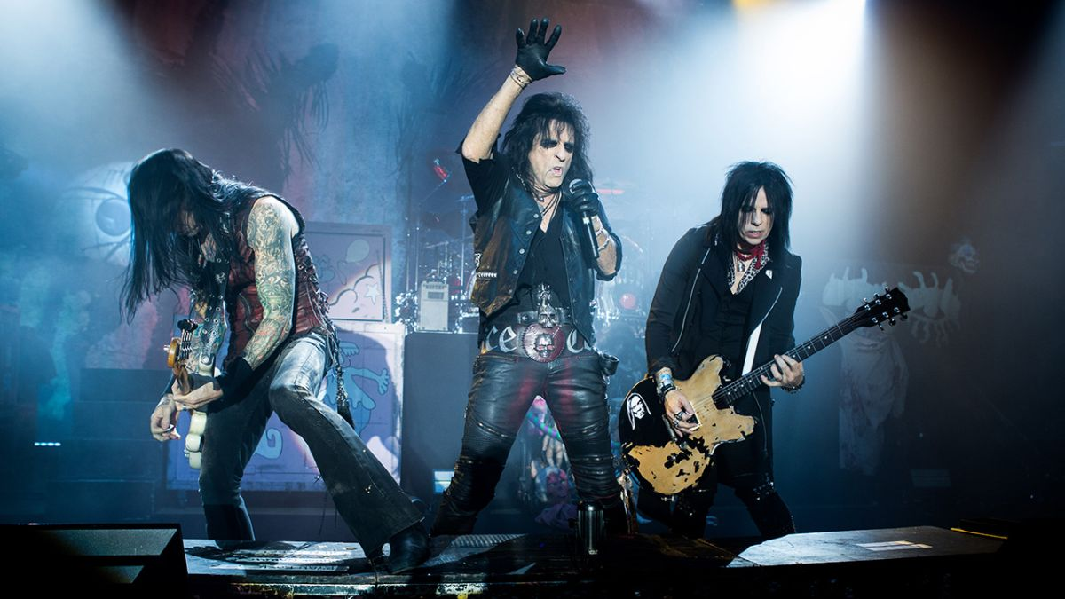 Listen to Alice Cooper deliver a Paranormal version of Poison