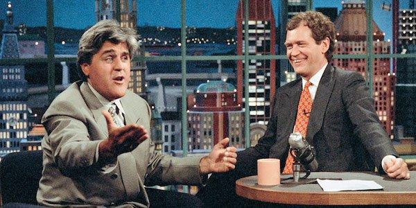 Jay Leno David Letterman