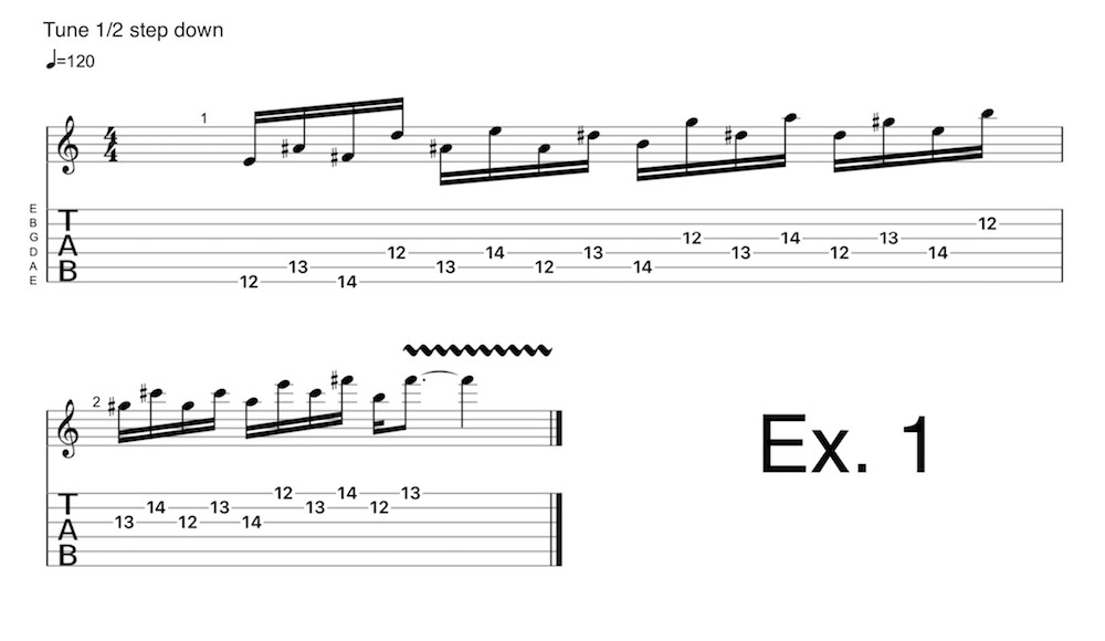 Add tension to your solos with the atonal 'X' scale | Guitarworld