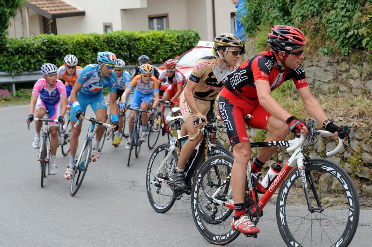 Danilo Wyss escape, Giro d'Italia 2010, stage 13