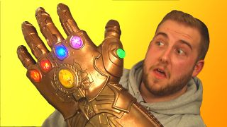 *Thanos not pictured. That's Brandon. And no, his hand isn't actually that big.