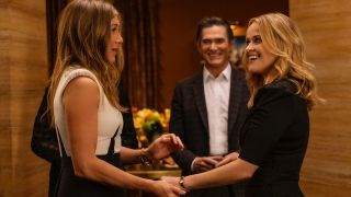 Jennifer Anniston and Reese Witherspoon in The Morning Show season 2