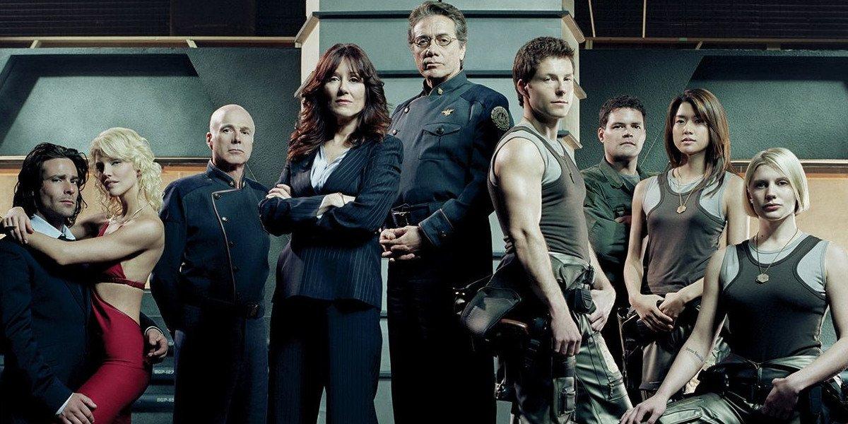 battlestar galactica cast syfy