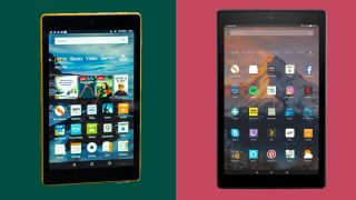 Amazon Fire HD 8 vs Amazon Fire HD 10