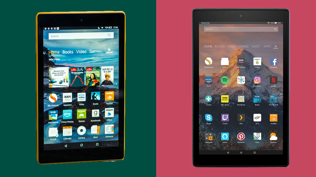 Amazon Fire Hd 8 Vs Fire Hd 10 Which Amazon Tablet Is Best For