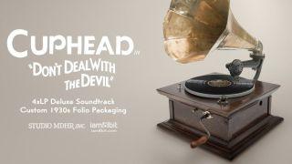Cuphead 4xLP Deluxe Vinyl Soundtrack. Image Credit: iam8bit.