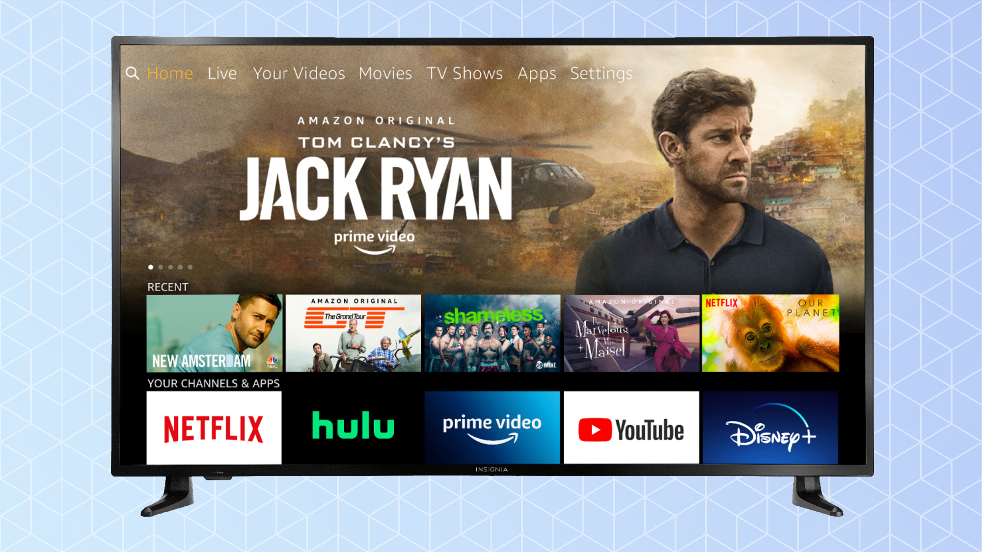 Insignia 4K Ultra HD Fire TV Edition NS-55DF710NA21 review