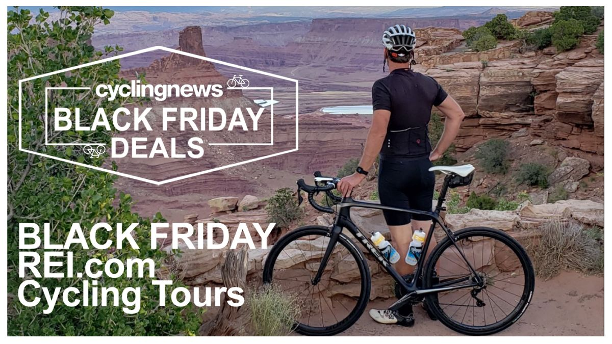 20% off REI North American cycling holidays this Cyber Monday