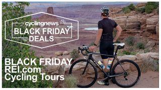Cyber Monday REI.com Cycling Tours Deals