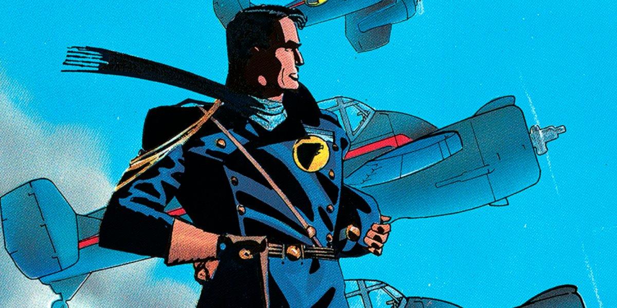 DC Comics' World War II-era fighter pilot character, Blackhawk