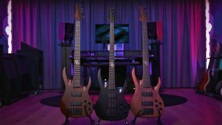 Solar bass guitars