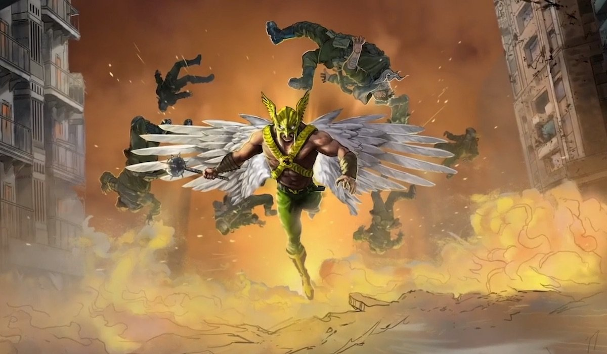 Hawkman in Black Adam