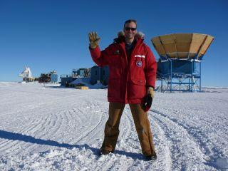 John Kovac at South Pole