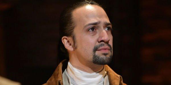 Lin as Hamilton