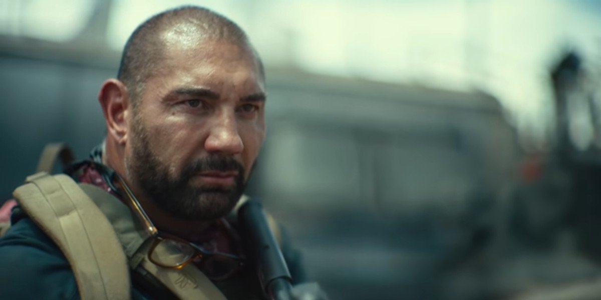Dave Bautista ready to attack Las Vegas zombies in Army of the Dead