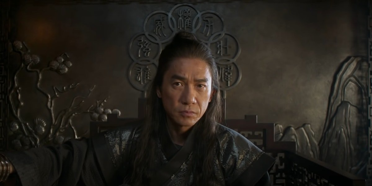Tony Leung as Xu Wenwu / The Mandarin in Shang-Chi and the Legend of the Ten Rings