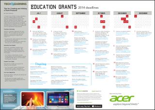 2014-2015 Grants Deadlines & Calendar
