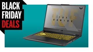 Black Friday Deal banner for Asus A17