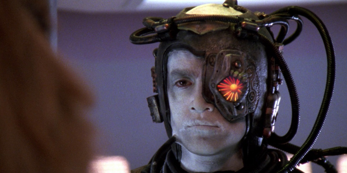 Wow, Star Trek Borg Hugh Is Unrecognizable In New Picard Photo - CINEMABLEND
