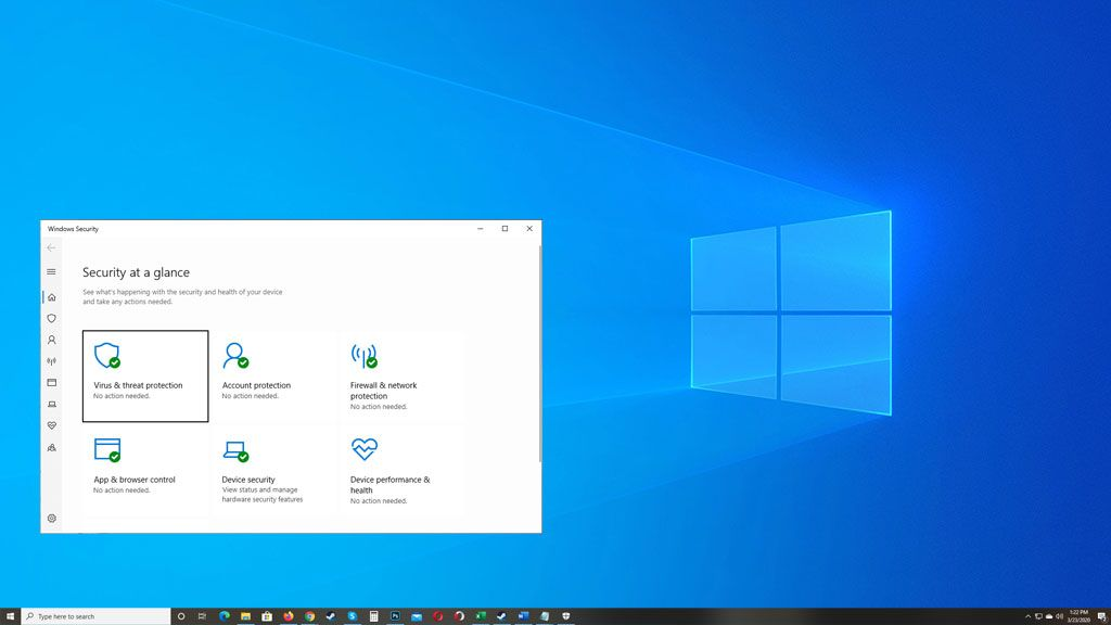 Windows Defender is acting wonky on some PCs