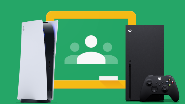 Google Classroom on PS5 and Xbox Series X