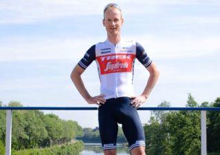 Pieter Weening in Trek-Segafredo colours