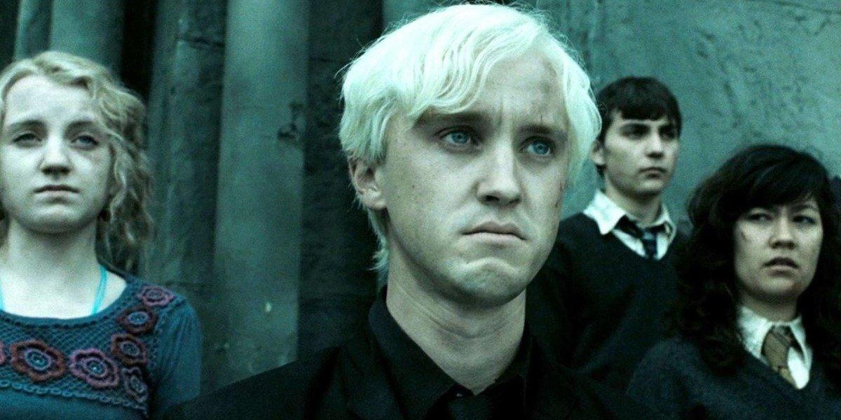 Tom Felton as Draco Malfoy in Harry Potter movies