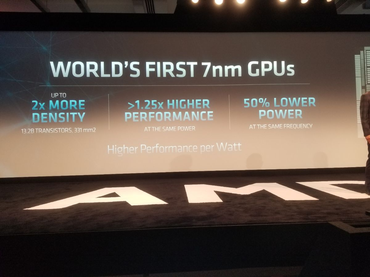 AMD Announces 64-Core 7nm Rome CPUs, 7nm MI60 GPUs, and Zen