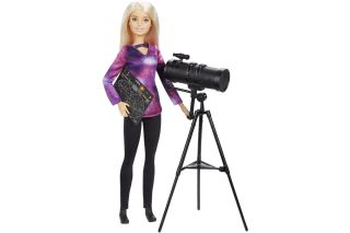 Astrophysicist Barbie is a collaboration between Mattel and National Geographic.