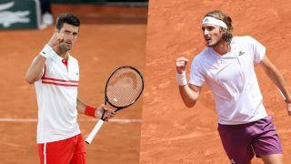 live stream Djokovic vs Tsitsipas in the French Open final 2021