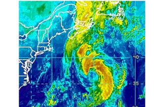 weather, tropical storm Leslie, Hurricane leslie, newfoundland