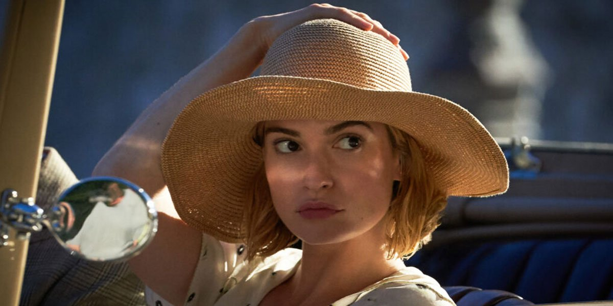 Lily James romantic jaunt in Netflix's Rebecca