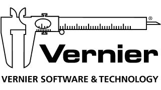 Vernier software logo (drawing of slide rule)