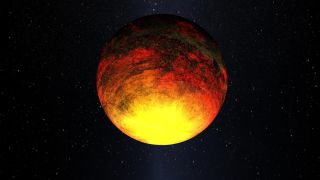 "Artist's concept of Kepler-10b, which was detected by NASA's Kepler mission. Kepler scientists say it's the first ""unquestionably rocky"" alien planet ever found."