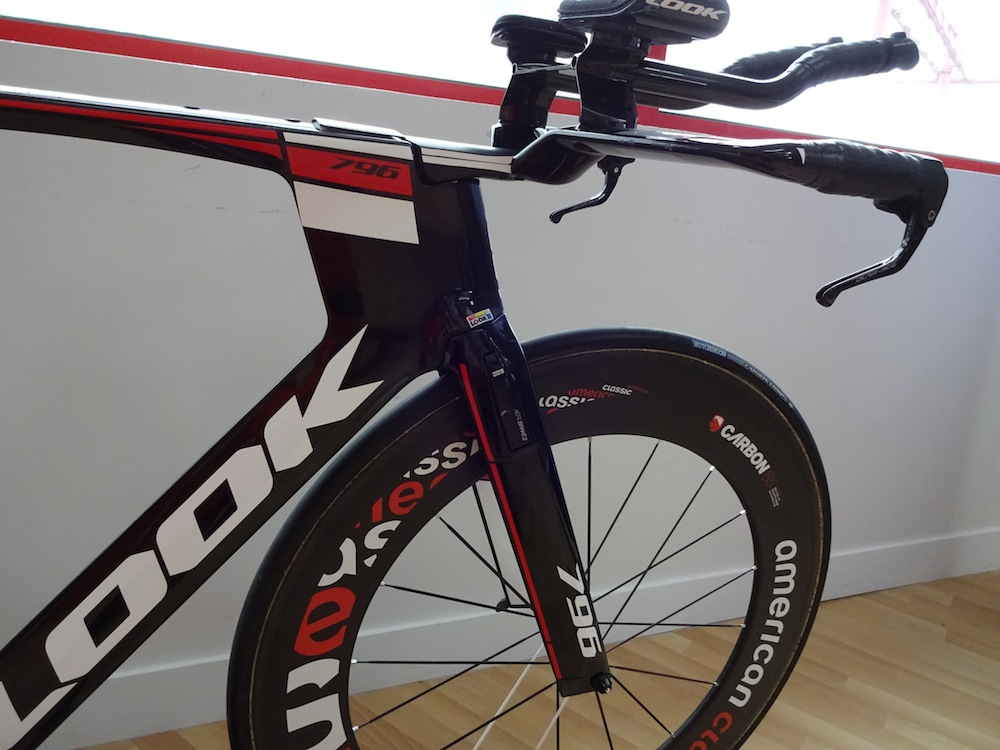 New Look 796 Monoblade Tt Bike Has Ultra Skinny Front Profile