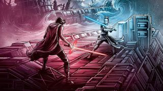 Dan Mumford returns with an IMAX-exclusive poster for The Rise of Skywalker.