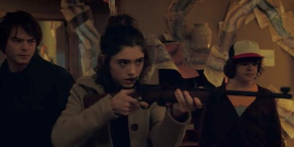Nancy with a rifle in Season 2