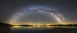 Milky Way over Campinho