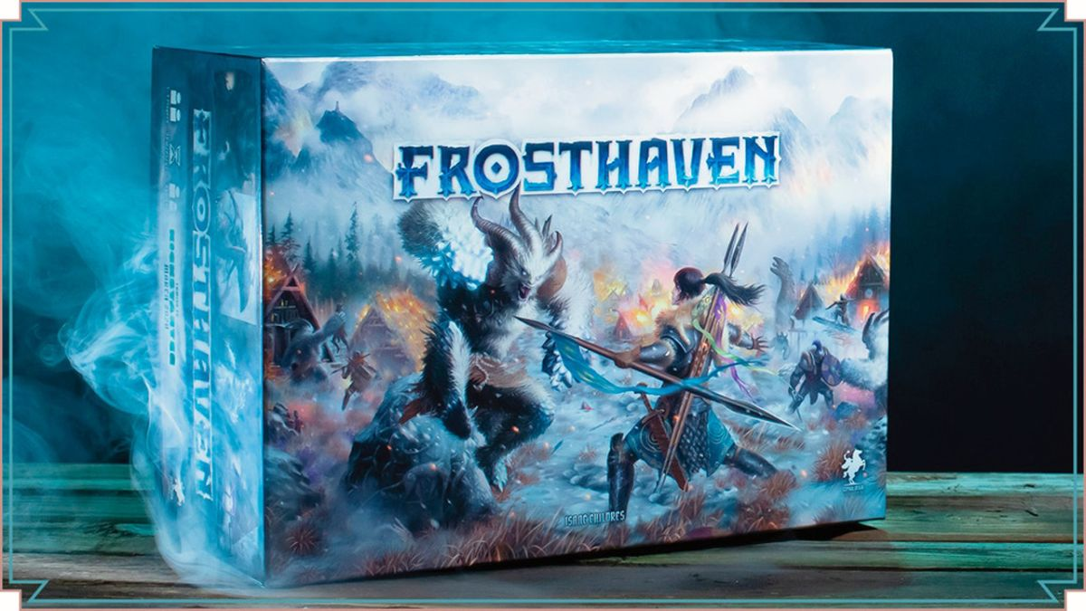 Frosthaven is the most successful board game Kickstarter ever - here's when it's coming out