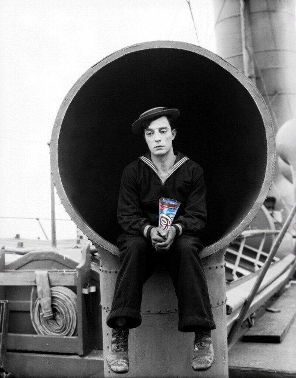 Buster Keaton Cornetto