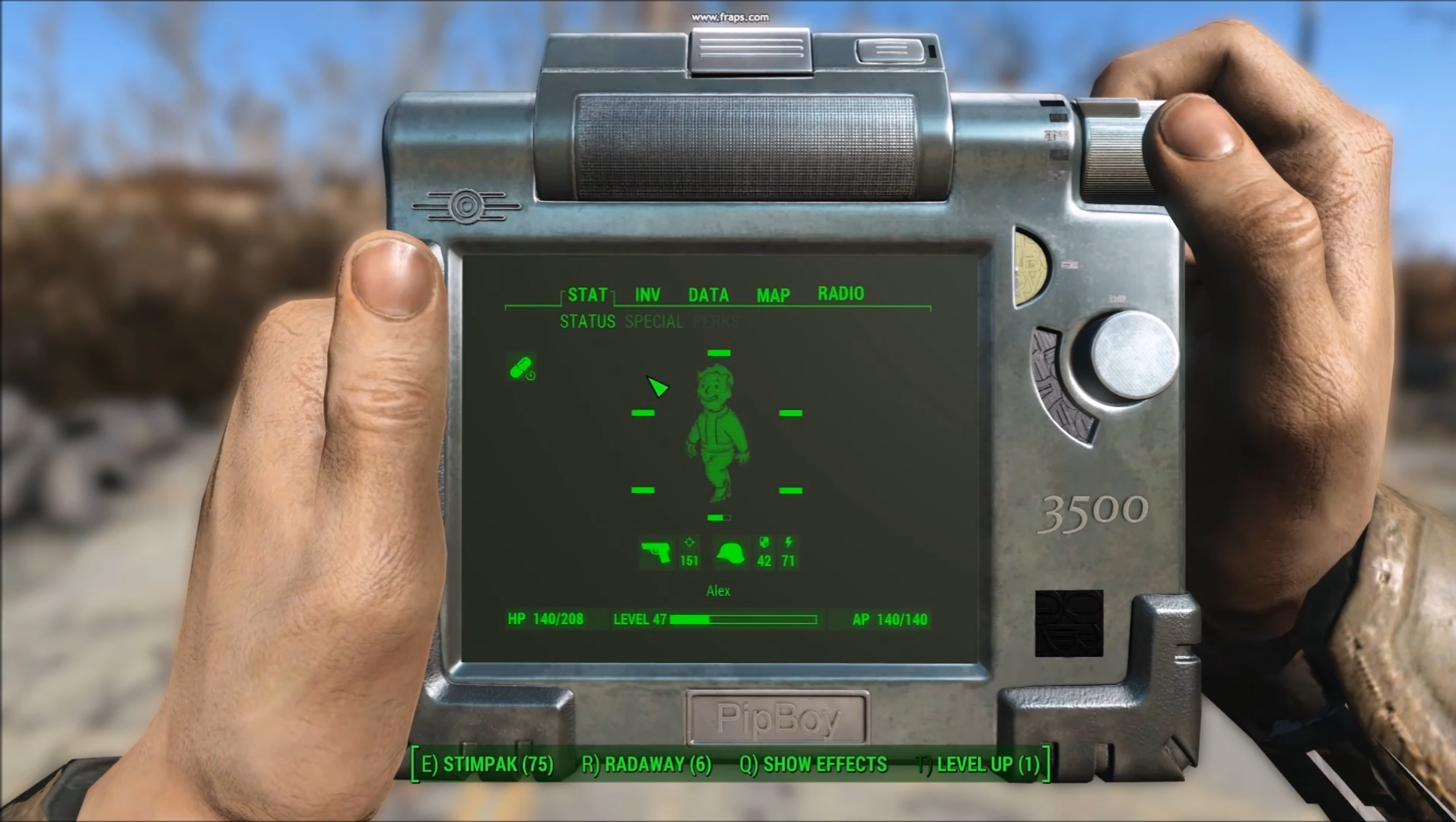 Modder replaces Fallout 4's Pip-Boy with the Pip-Pad, a sweet